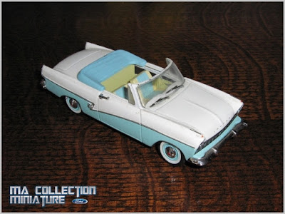 ma collection de miniature ford