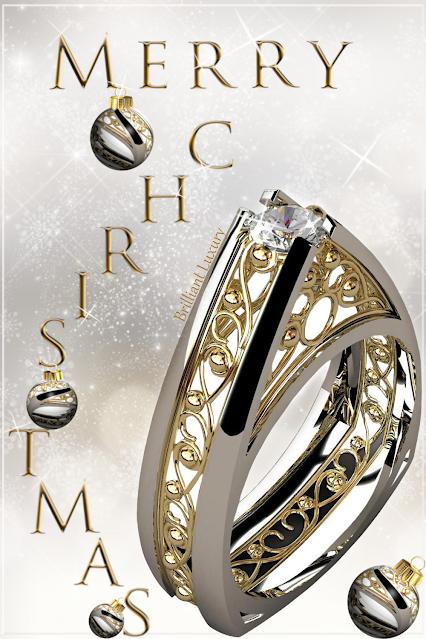 Greg Neeley Jewelry Christmas Edit Pinnacle Engagement Ring #brilliantluxury