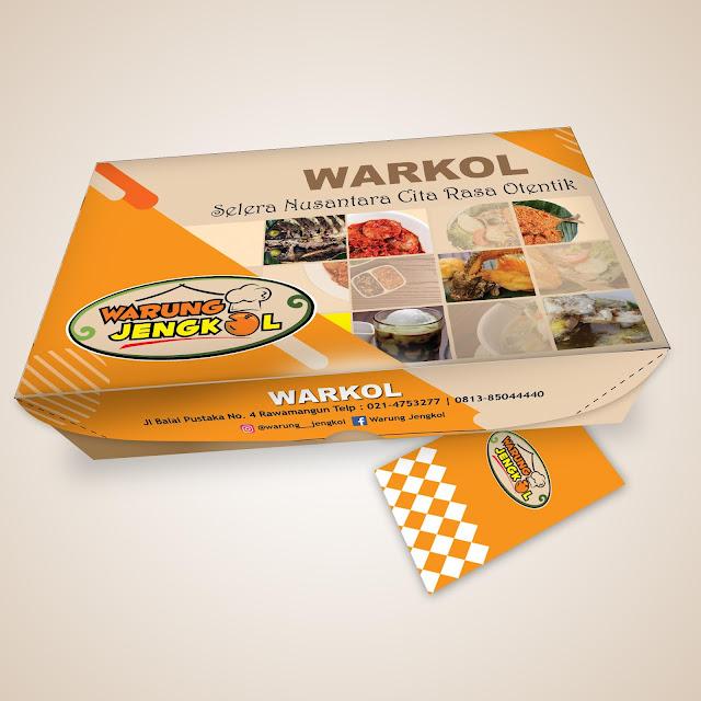 contoh desain box makanan keren, contoh pola box makanan