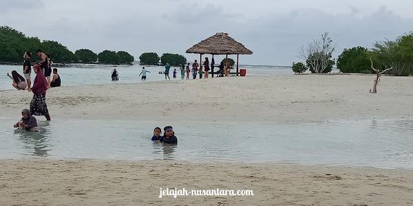 destinasi wisata pantai pasir perawan pulau pari