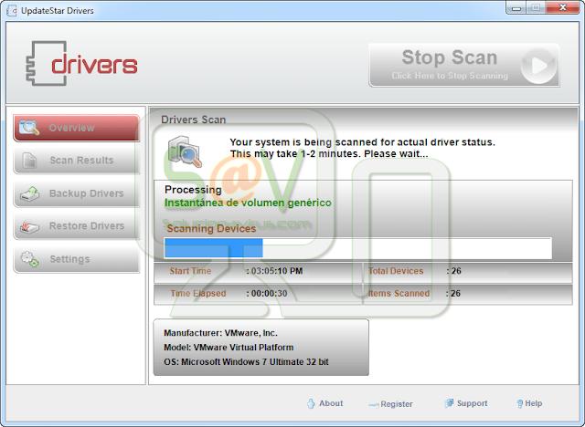 UpdateStar Drivers (Falso optimizador)
