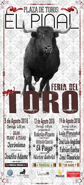 toros feria tezitulán 2018