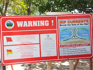 Rips currents in Phuket