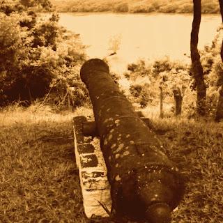 Canhão do Antigo Forte de Rio Pardo