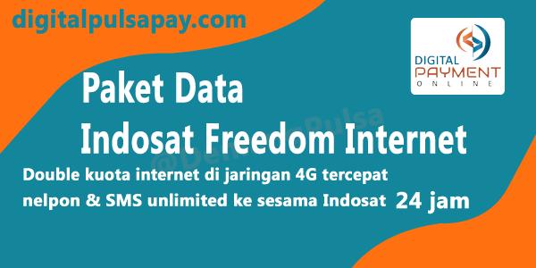 Paket Data Indosat Freedom Internet