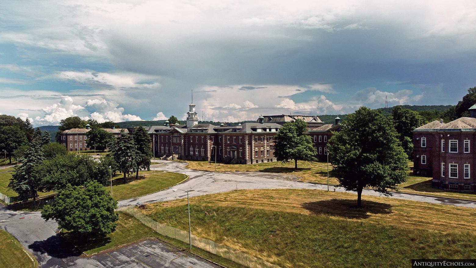 Allentown State Hospital - In Summer