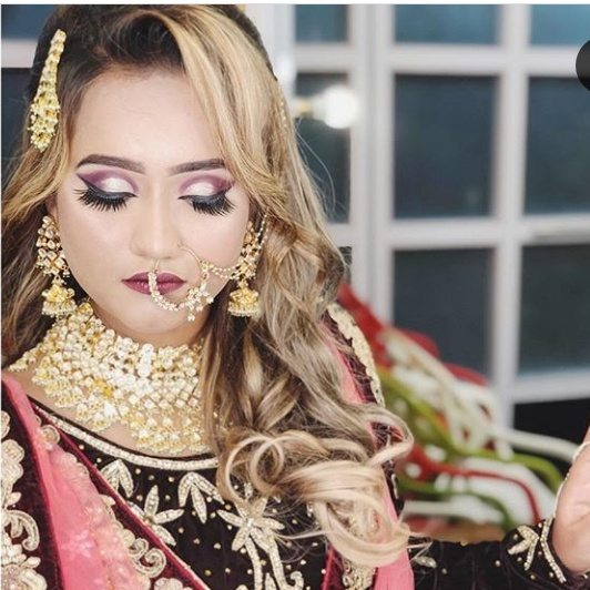 Shanaya khan in bridal look