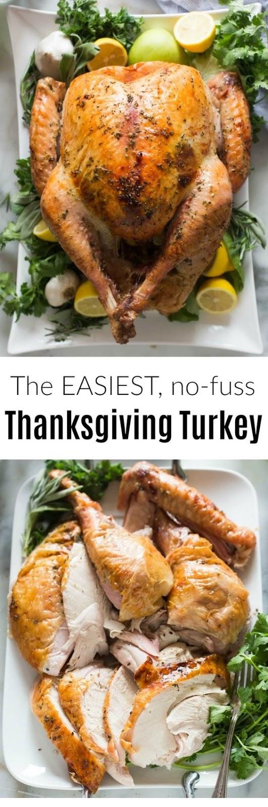 Easy, No Fuss Thanksgiving Turkey