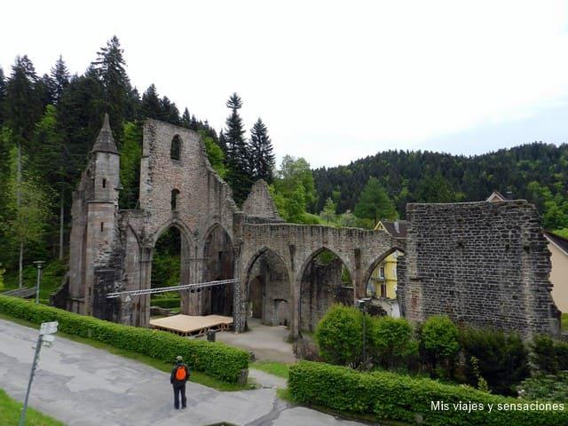 Ruinas del convento de Allerheiligen, Selva Negra, Alemania