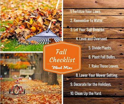 Lawn care in minnetonka for Fall yard clean up checklist