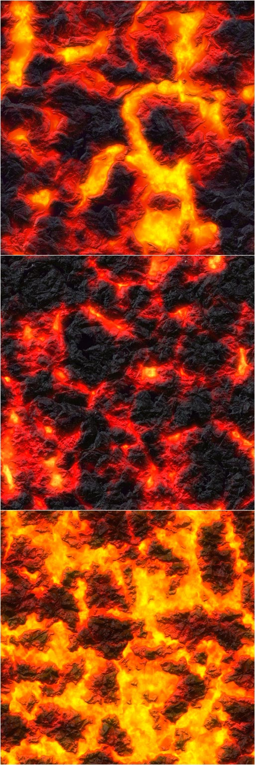 Lava Flow Patterns Preview