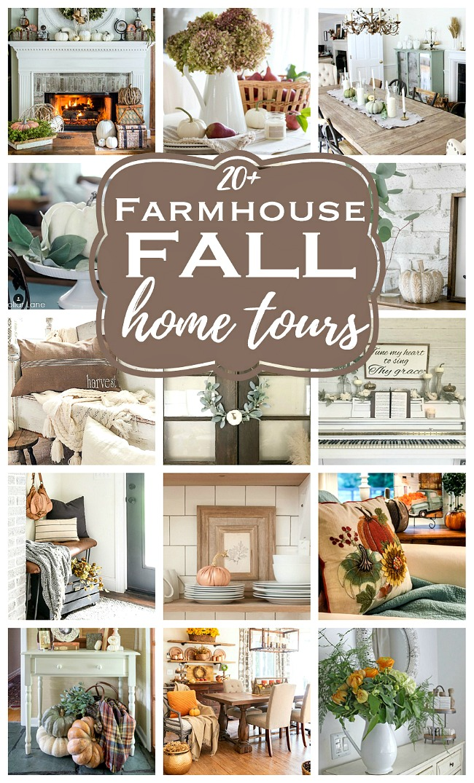 20+ farmhouse fall home tours