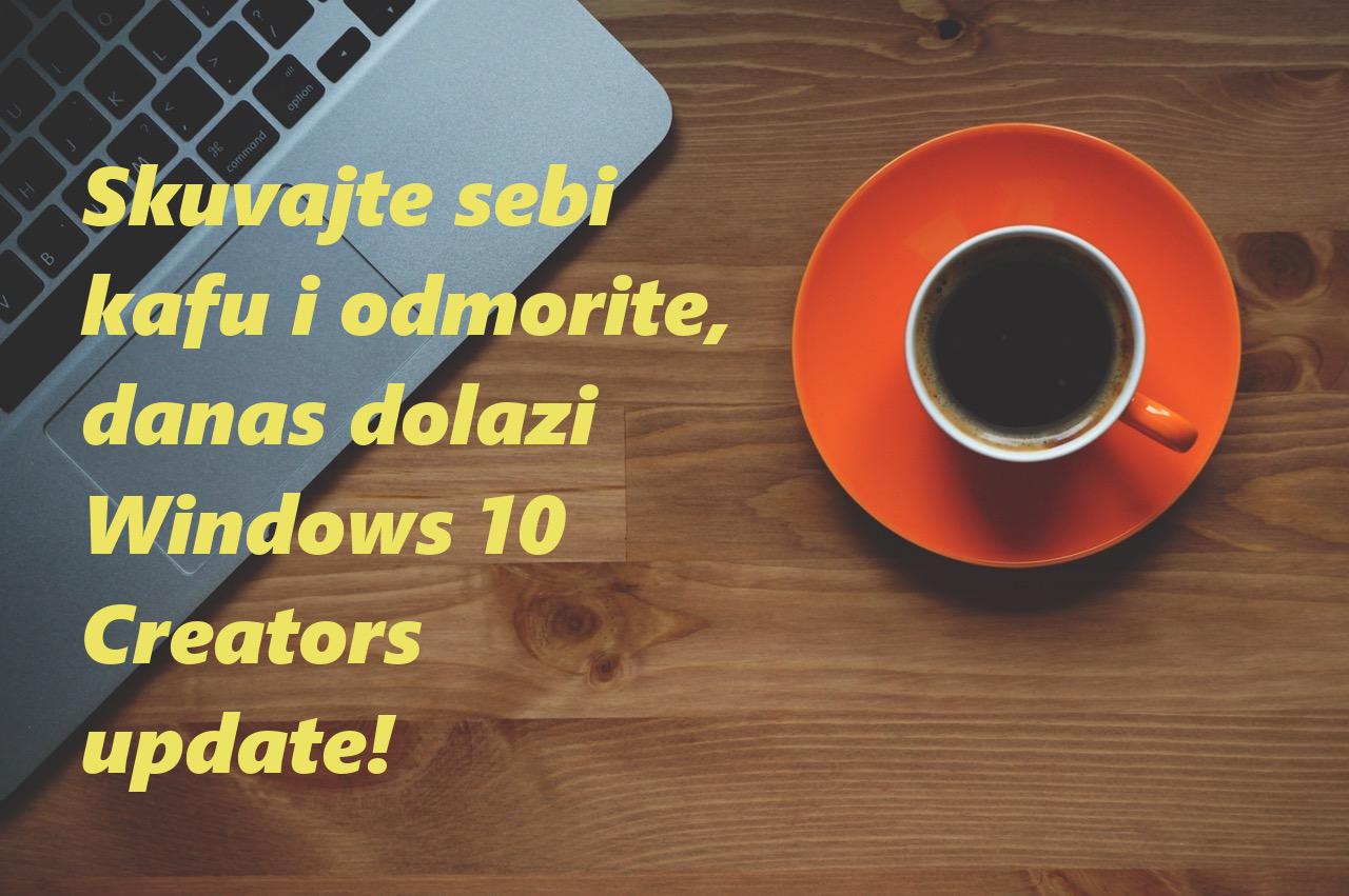 Nova nadogradnja windows 10 sistema | Fog Developer