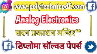 analog-electronics-saran-publication