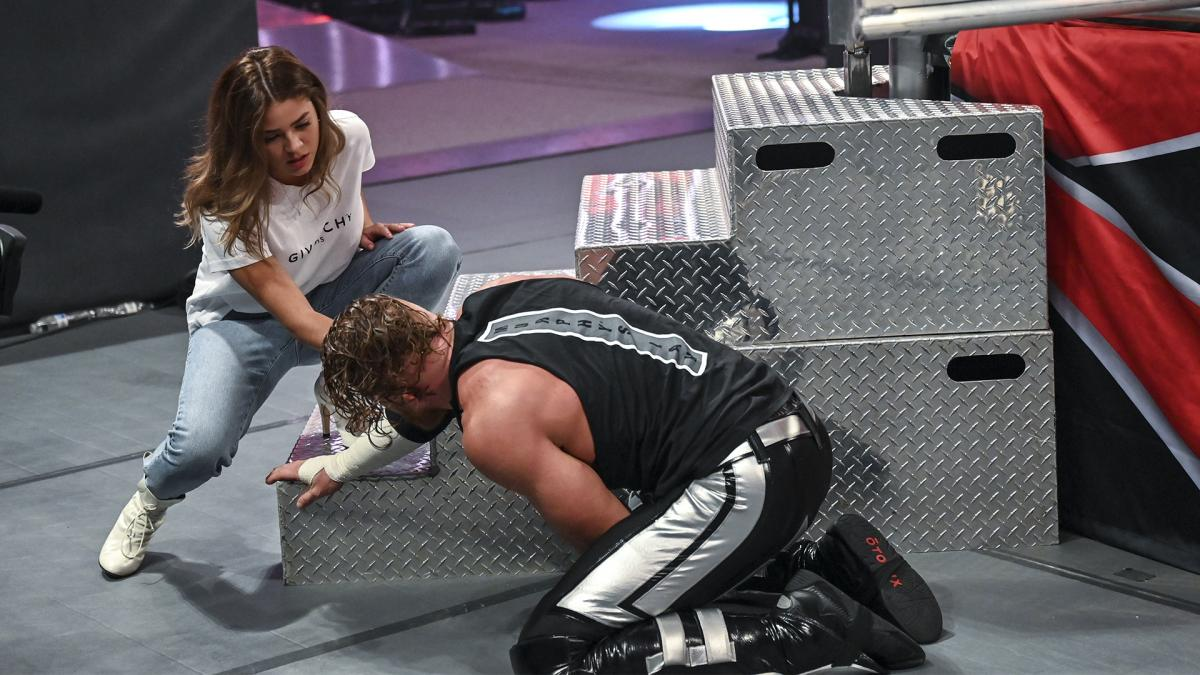 Aalyah Mysterio and Buddy Murphy