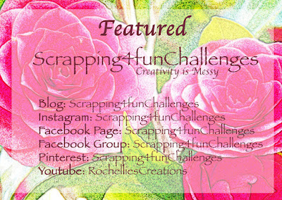 Featured creation at Scrapping 4 Fun Challenges!