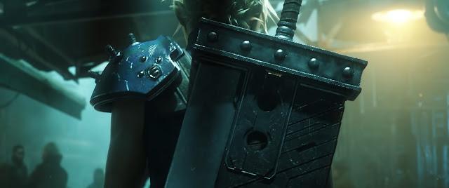 Espada Mortal Final Fantasy VII Remake Armas icónicas