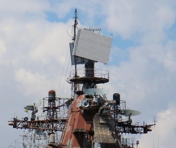 На флагмані ВМСУ модернізують РЛС МР-750
