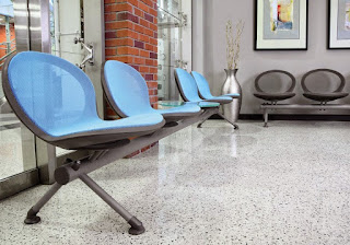 Modern Beam Style Waiting Room Seating at OfficeAnything.com