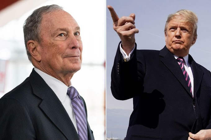 Mike Bloomberg announces he'll sell off his $60 billion media empire if he beats Trump, Trump reacts!