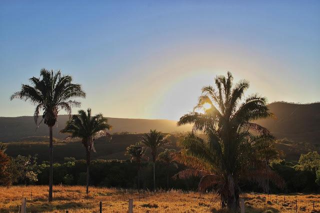 Nascer do Sol em Alto Paraíso.