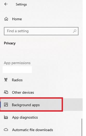 كيف تمنع التطبيقات والبرامج من العمل في الخلفية في ويندوز 10
