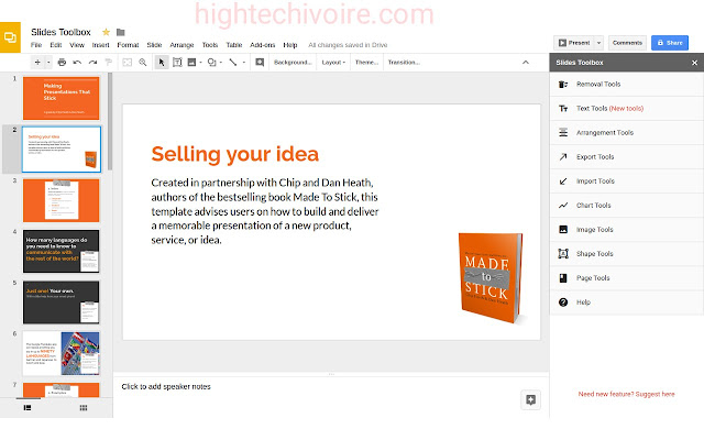 google-slides-comment-creer-presentation