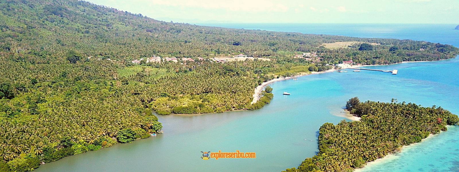 paket private wisata pulau sebesi dari Jakarta