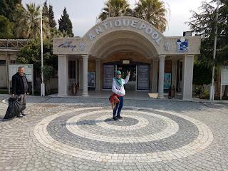 Travelog Turkey Pamukkale National Park Ancient Pool