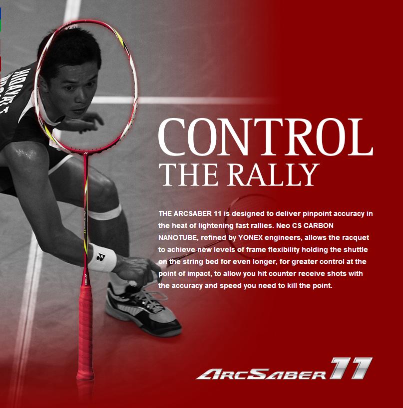 Of badminton things: New Racket Launch: Yonex ArcSaber 11 ...