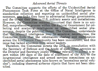 The Senate Intelligence Committee Votes On Public Analysis of UFOs