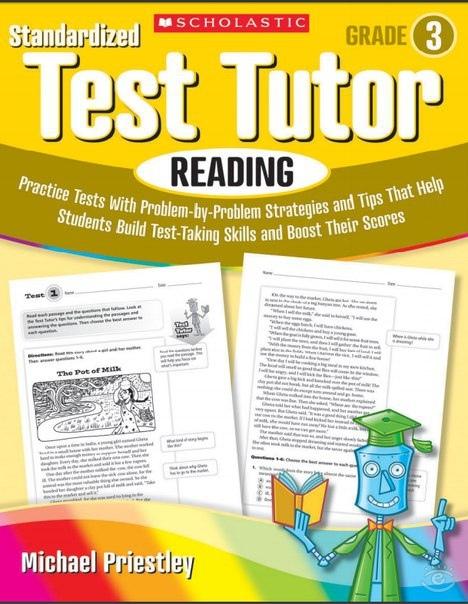 Priestley Michael. Standardized Test Tutor: Reading, Grade 3