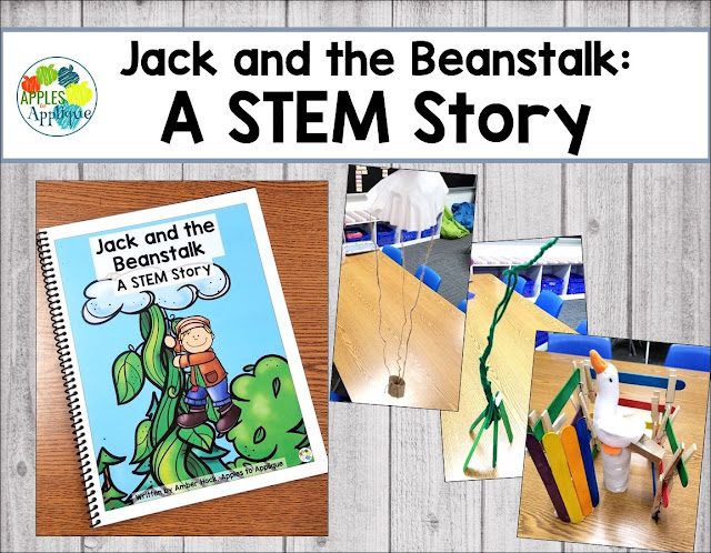 Jack and the Beanstalk: A STEM Story | Apples to Applique