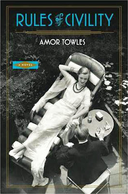 Rules of Civility by Amor Towles - book cover