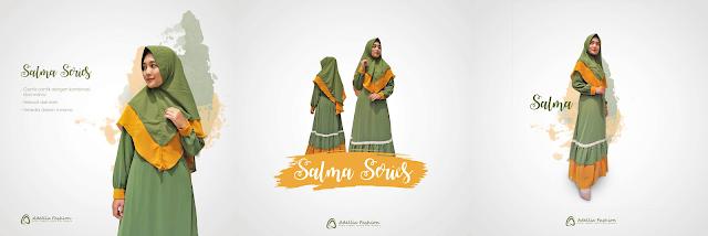 Rekomendasi Gamis Muslimah Terbaru 2020 - Adellia Fashion