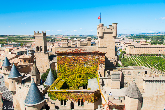Castillo de Olite. 6 rutas lowcost en coche