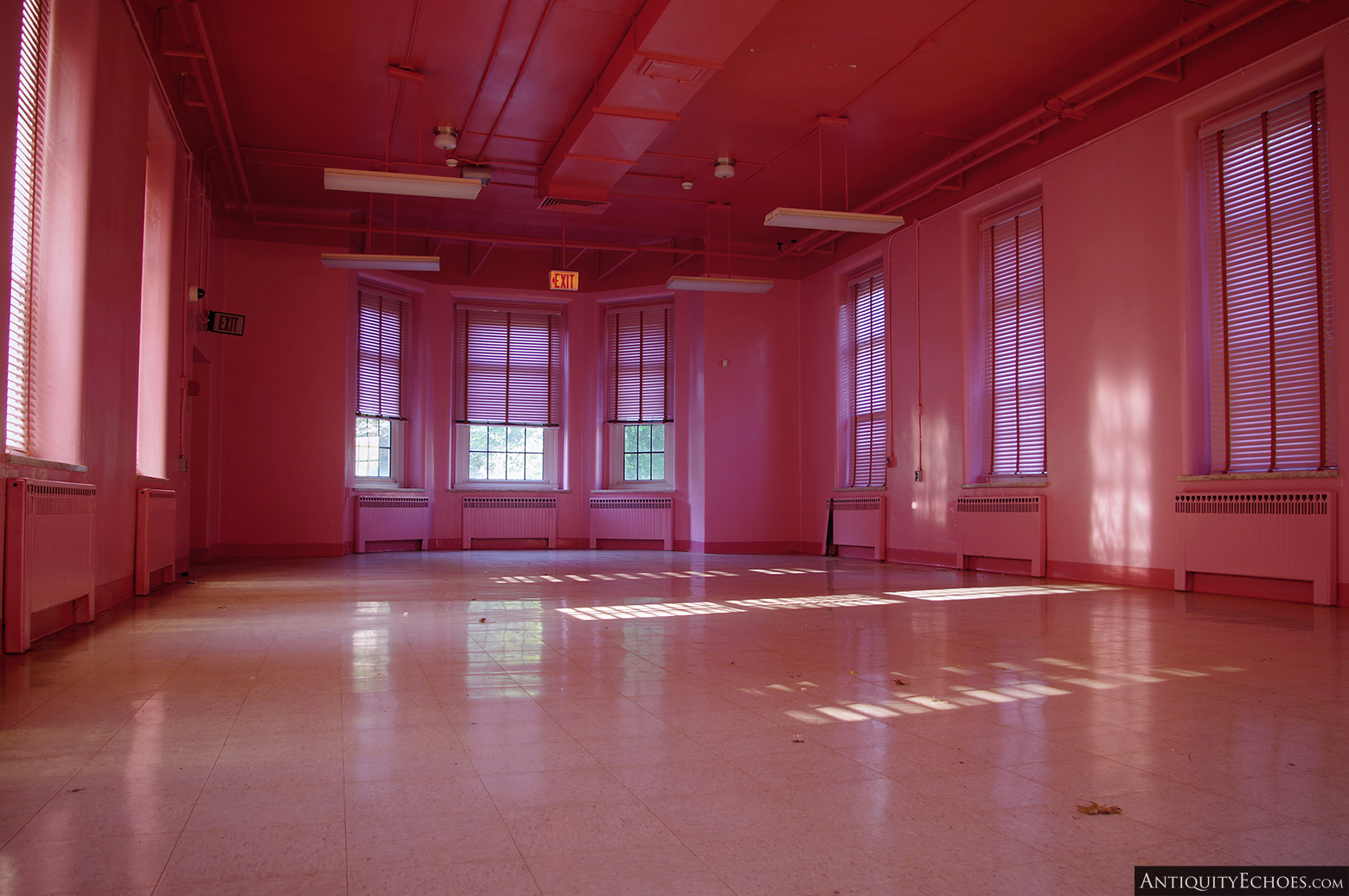 Allentown State Hospital - Pink Ward where Glass was Filmed