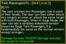 naruto castle defense 6.7 Twin Rasengan detail