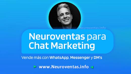 👨🎓¿POR QUÉ ESTUDIAR Neuroventas para Chat Marketing? ¡AHORA! 👩🎓