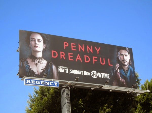 Penny Dreadful series launch billboard