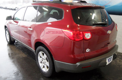 Pick of the Week - 2010 Chevrolet Traverse LT