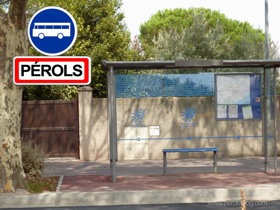 Bus TAM Pérols Sud
