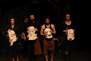 23-čio Tarptautinis Kairo šiuolaikinio ir eksperimentinio teatro festivalio akimirka