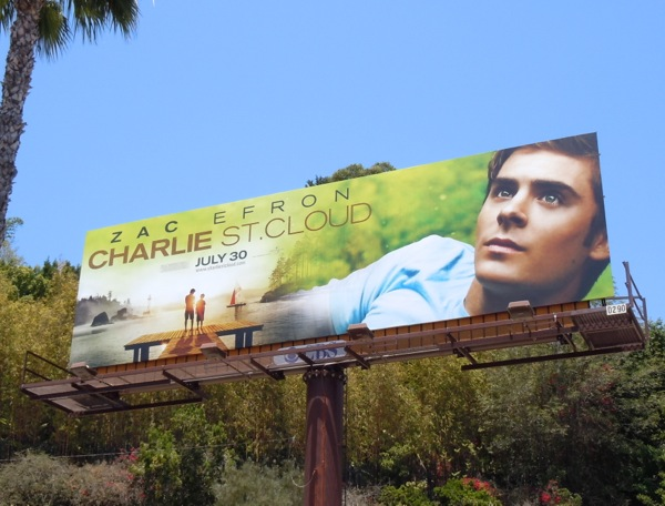 Charlie St Cloud movie billboard