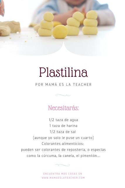 actividad para niños: plastilina casera