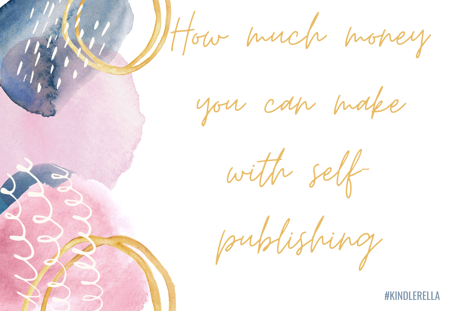 How much money you can make with self-publishing