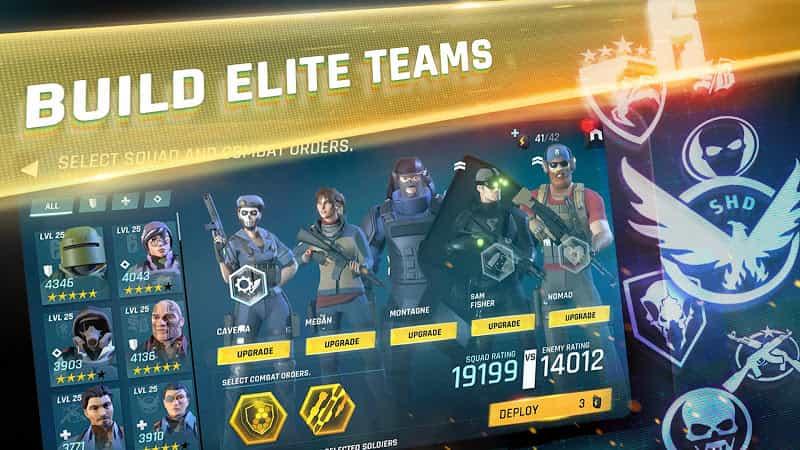 Tom Clancy's Elite Squad v2.1.0 MOD, Damage/Always Win - Game hành động cho điện thoại
