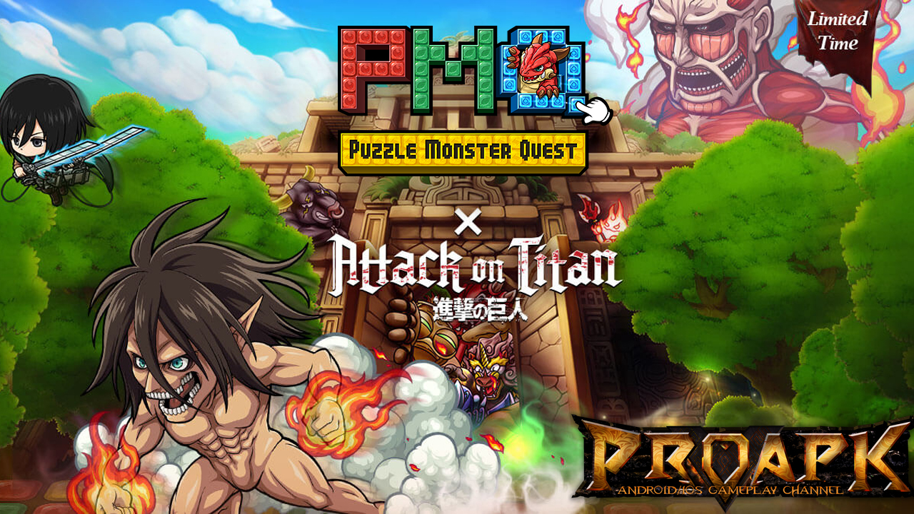 PMQ: Attack on Titan