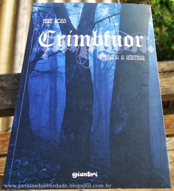 livro, Crimbfuor - chegada a Atrithar, Mike Ross, Giostri, fantasia