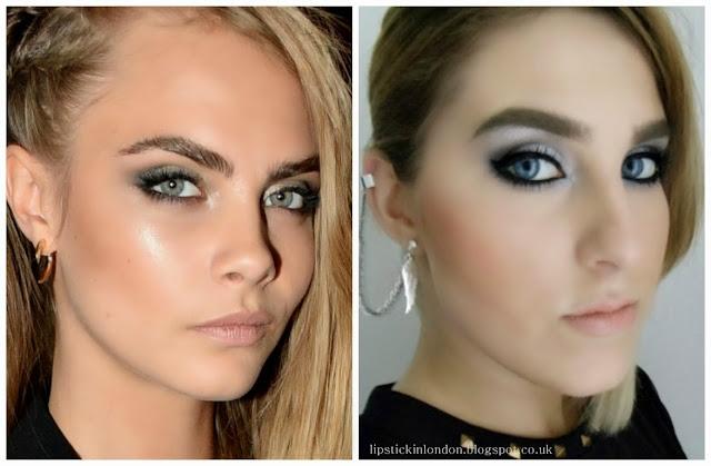 Cara Delevingne ispired makeup